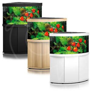 Juwel Trigon 350 Aquarium & Cabinet - LED Lighting, Filter, Pump, Heater Tank