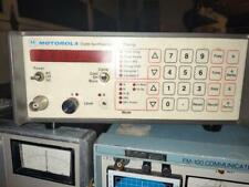 Motorola R 1100a Code Synthesizer Tested Working Vgc Very Nice Look