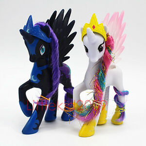 2pcs Set My Little Pony White Princess Celestia &LUNA ...