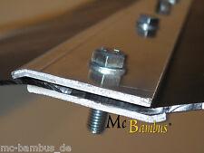 Bambus Verschlussleiste für Rhizomsperre 70 cm Aluminium
