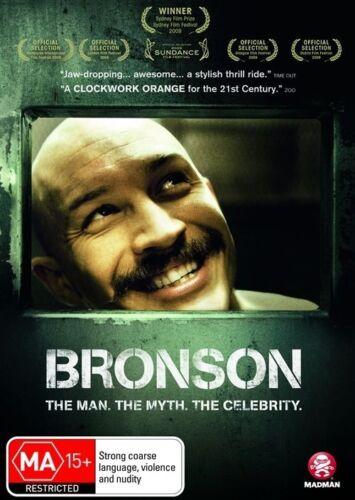 1 of 1 - Bronson - DVD LIKE NEW REGION 4 FREE POST AUS
