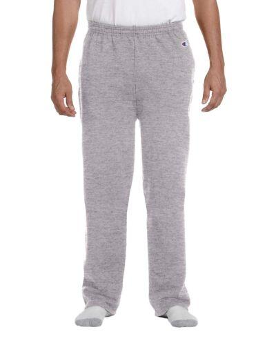 P800 Champion Sports Mens S//XXL OPEN BOTTOM Eco Pocket Sweatpants
