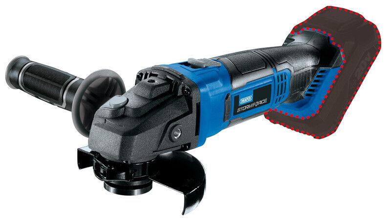Draper 89521   Storm Force® 20V 115mm Angle Grinder - Bare CAG20SF