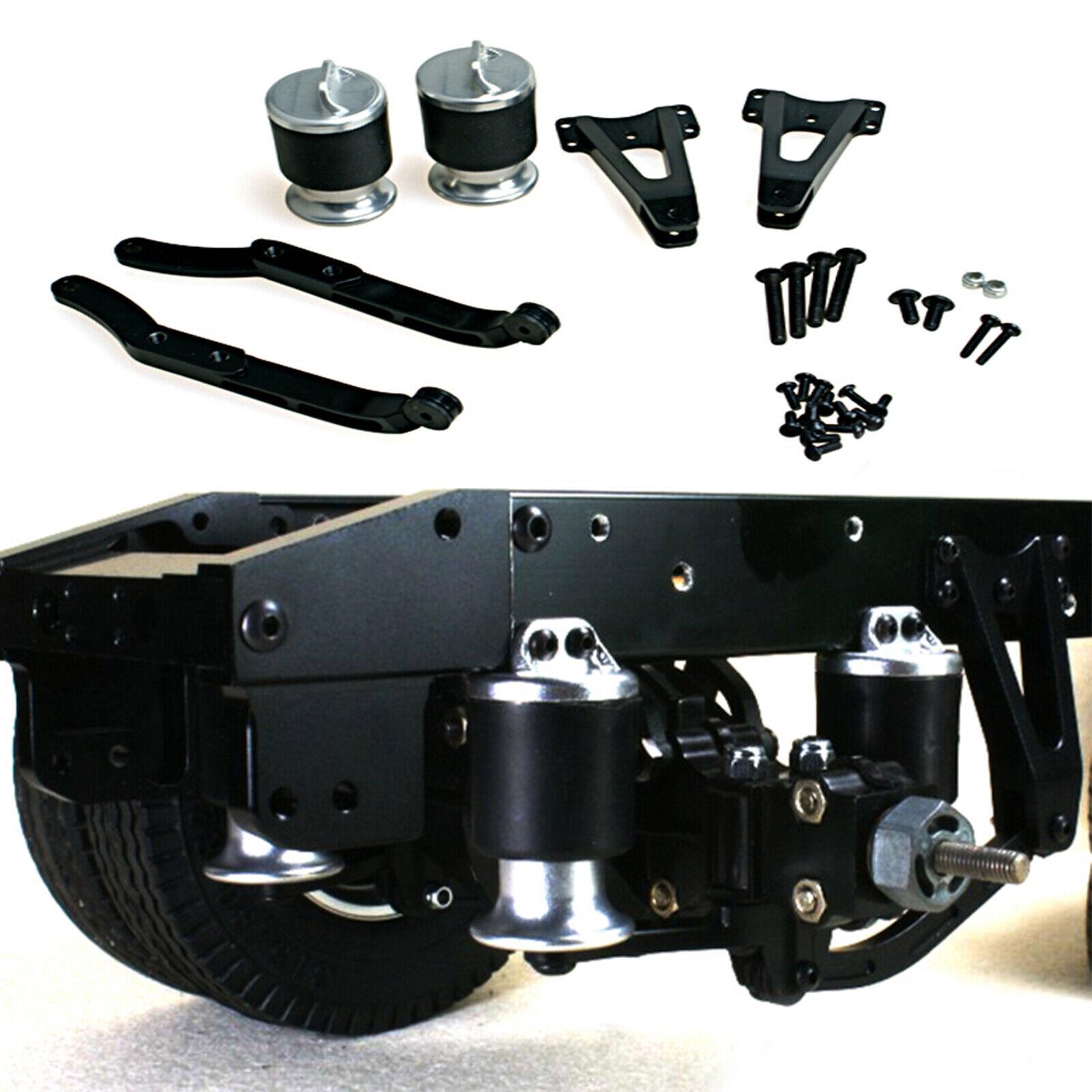 LESU Metal Conjunto de suspensión neumática para 1 14 TAMIYA Radio Control Coche Modelo De Camión Tractor