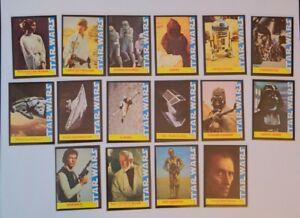 1977 wonderbread star wars promotional card set. All 16 cards NM