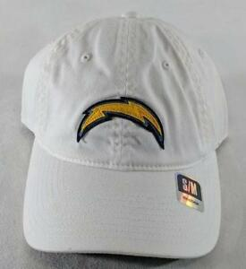 cheap for discount 90ba1 c9aed Image is loading LZ-Reebok-Adult-Fitted-S-M-Los-Angeles-Chargers-