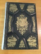 Home Life In The Bible By Daniel March, 1879 Leather & Embossed, Rare, Nice