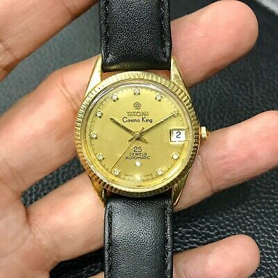 Titoni Cosmo King Mechanical Automatic Men's Luxury Watch (Great Condition)    eBay