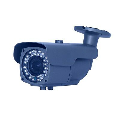 Camera de surveillance noire IR 36 LED IR CUT 960P métal Waterproof
