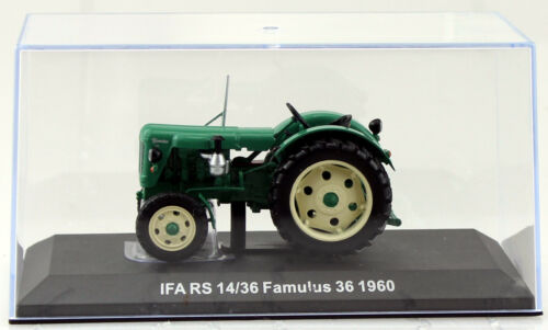 IFA RS 14//36 Famulus 1960 Traktor 1:43 Hachette//UH Modellauto