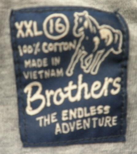 Brothers The Endless Adventure XXL 16 Boys Shirt New