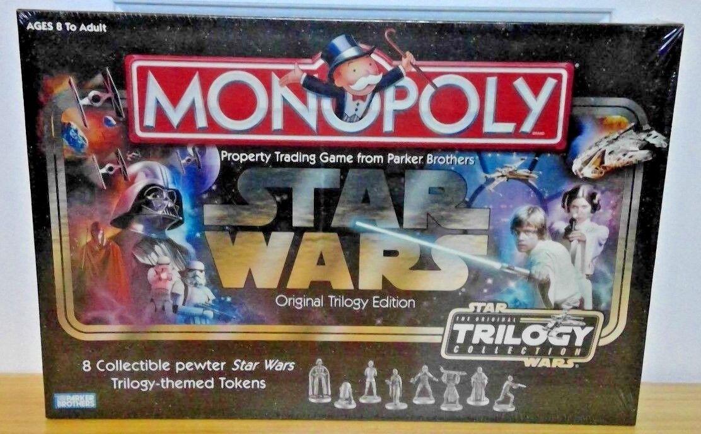 Das star - wars - trilogie  original brettspiel neue fabrik versiegelt