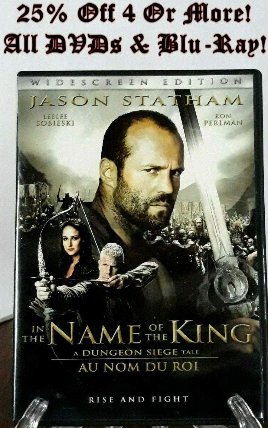 In The Name Of The King A Dungeon Siege Tale Dvd 2012 Canadian