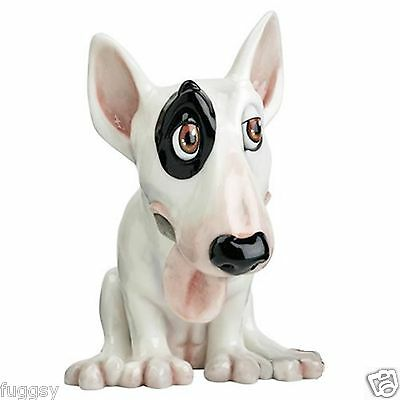 Pets with Personality Figurine Sykes English Bull Terrier DOG Ornament 565 NEW