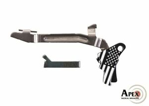Details about Apex Tactical - Freedom Glock Gen 5 Kit - Trigger Bar and  Connector - Black
