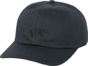 1bb53188 RVCA - Redmond Mens Hat (NEW) Navy Blue 6 Six Panel Cap VA RUCA ...