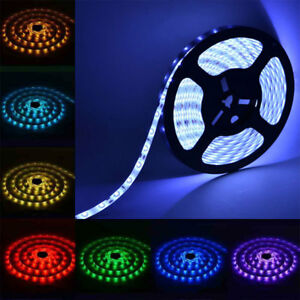 SMD-3528-RGB-Cool-Warm-White-LED-Strip-Light-12V-Waterproof-Kit-Adapter-Remote