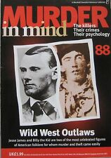 Murder in Mind Issue 88 - Wild West Outlaws Jesse James and Billy the Kid