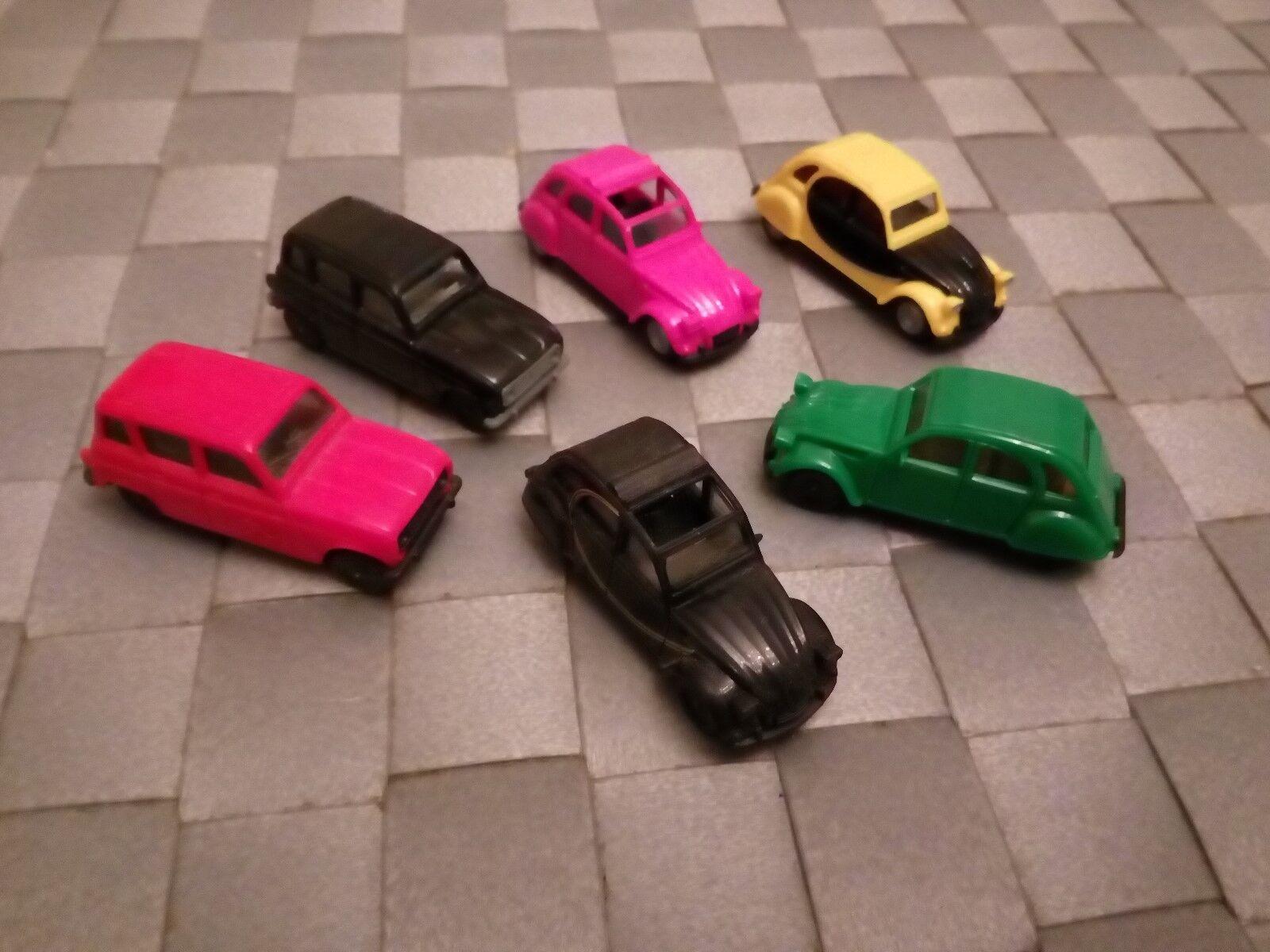 6 x x x Herpa Modellauto 1 87 H0 Citroen 2 CV Ente Renault R 4  | Hohe Qualität Und Geringen Overhead  daf1f7