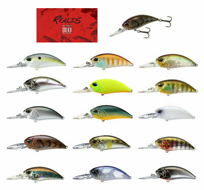 DUO Realis Crank 48SR fishing lures original range of colors