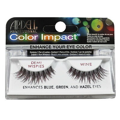 Ardell Fashion Eye Lash Demi Wispies Wine x 4 Pack #61473