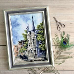 Counted-Cross-Stitch-Kit-Old-City-Landscape-DIY-Embroidery-KIT-Wall-Art-Decor
