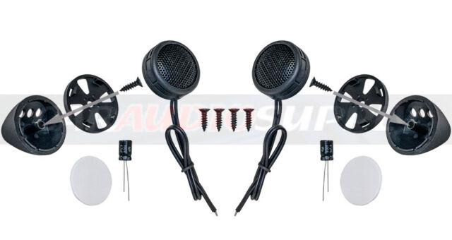 * 2 New Pairs 800 Watt Super Car Stereo Component Dome Tweeters Audio Speakers