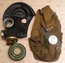 Gas Mask GP-5M Soviet Army Black Rubber PMG-2 (FILTER 40mm, BAG) Size Large (3)