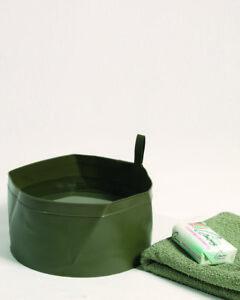 Armee Waschbehälter Faltbar Hundenapf Wassernapf Kst. Water Bucket foldable