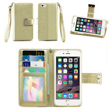 IZENGATE ID Wallet Flip Case PU Leather Cover Folio for Apple iPhone 6 / 6S