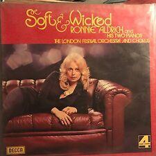 RONNIE ALDRICH  • Soft & Wicked • VINILE LP • DECCA
