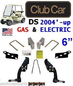 club car ds golf cart 2004 39 up jake 39 s 6 spindle lift kit. Black Bedroom Furniture Sets. Home Design Ideas