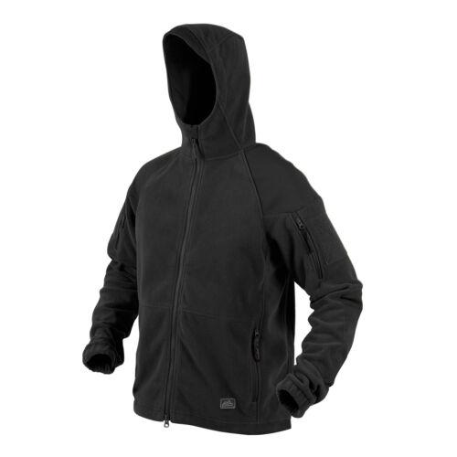 HELIKON TEX Cumulus Heavy Polaire Capuche Veste Jacket Noir XXL XXLarge