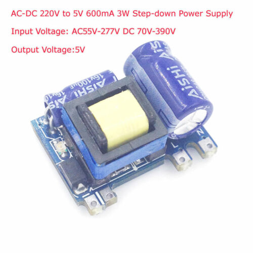 AC-DC 220V to 5V 600mA 3W Step-down Buck Power Supply Module