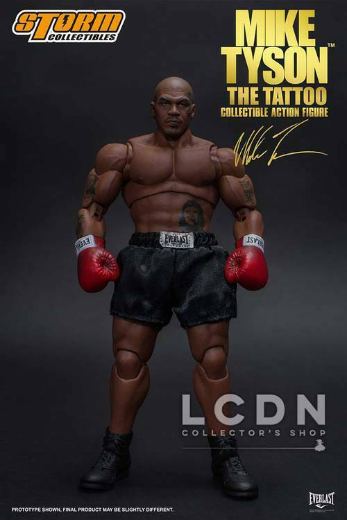 Mike Tyson The Tattoo 1 12 Action Figure Storm Toys Collectibles