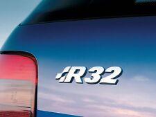 VW GOLF R32 REAR HATCH / SIDE BADGE VOLKSWAGEN GTI TDI R LINE CUSTOM DUB V6 3.2L