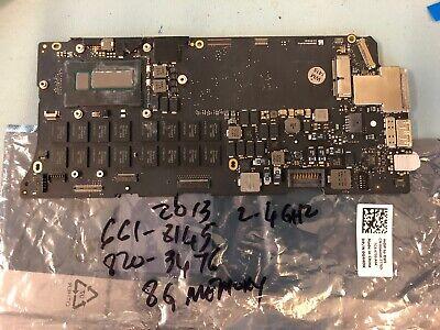"Apple Macbook Pro 13/"" A1502 2013 Logic Board EMC 2678 21PGNMB02D0 820-3536-A"