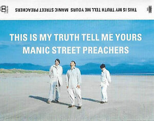 MANIC-STREET-PREACHERS-THIS-IS-MY-TRUTH-TELL-ME-CASSETTE-ALBUM-ALT-ROCK-CLEAR