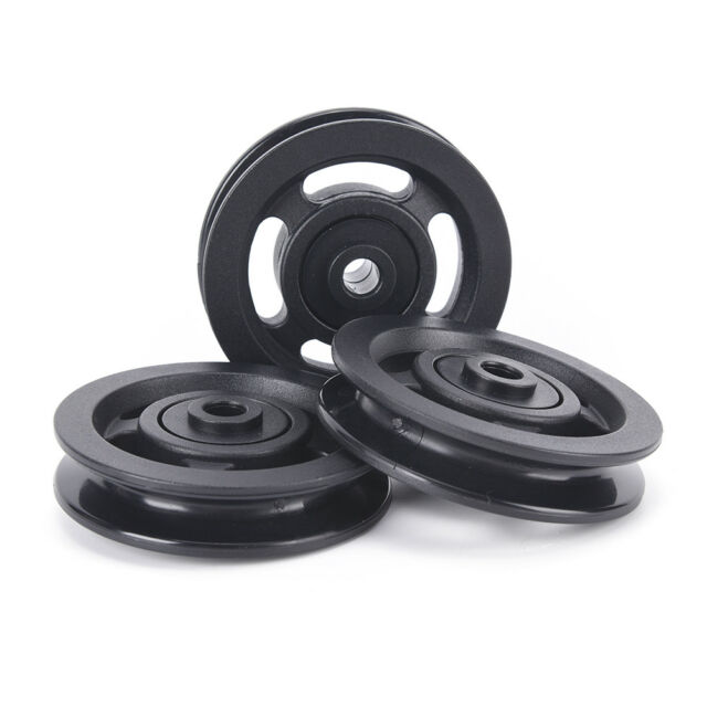 90mm black bearing pulley wheel cable gym equipment part wearproof HF