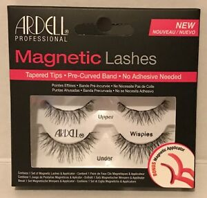 fae315f93d3 Ardell Magnetic Lashes Wispies + Bonus Applicator 74764704603 | eBay