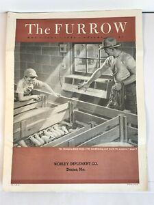 John Deere The Furrow Volume 61 Magazine Farm Newspaper FFA June 1956
