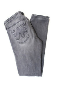 AG-Adriano-Goldschmied-Womens-The-Legging-Super-Skinny-Fit-Jeans-Gray-Size-28