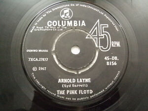 THE-PINK-FLOYD-syd-barrett-RARE-INDIA-SINGLE-45-ARNOLD-LAYNE-CANDY-CURRANT-BUM