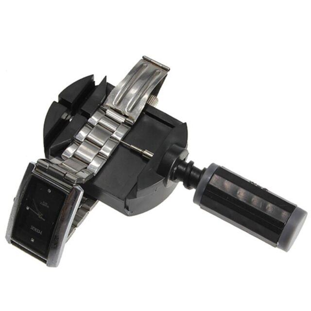 1X(SCHWARZ Stiftausdruecker Armbandkuerzer Armbanduhr Uhrmacher Werkzeug + 3 2kr