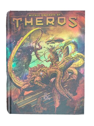 Hardcover Alternate Cover Dungeons /& Dragons D/&D Mythic Odysseys of Theros