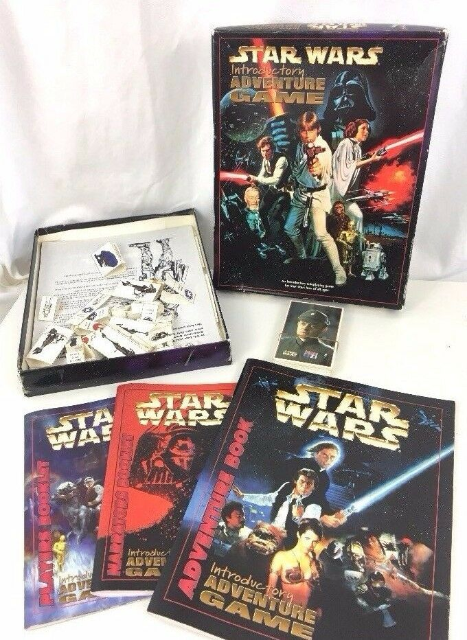 Star Wars Introductory Adventure VTG Board Game Rare Collectible 99% Complete