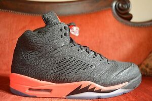eed0c9fd1d7 VNDS Nike Air Jordan 5 Retro 3lab5 Infrared Black Red Size 14 599581 ...