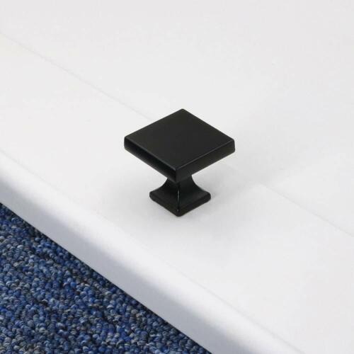 Black Cabinet Handles Soild Drawer Pulls Kitchen Door Knobs Cabinet Hardware