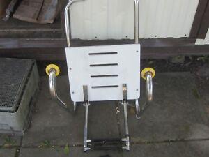 Garelick 19536 Outboard Transom Platform W//Telescoping Ladder 2 Steps
