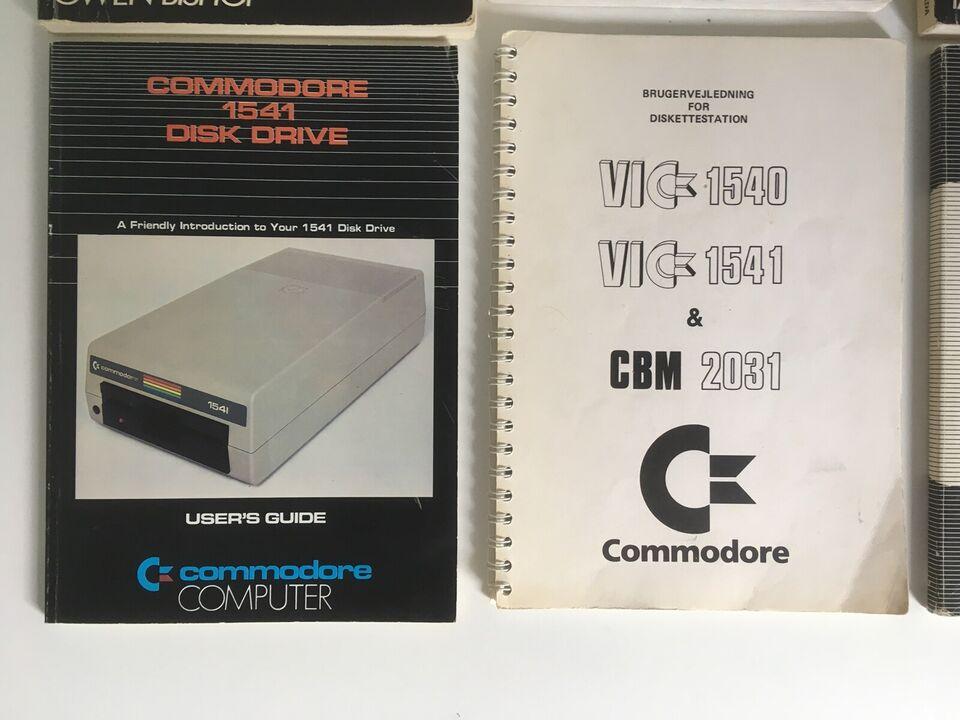 commodore 64 vic cbm disk drive bog bøger , spillekonsol,